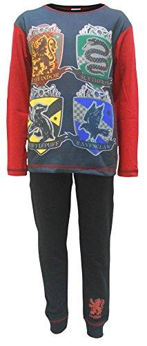 garçons Harry Potter Gryffindor Poudlard Serdaigle LOGO Pyjama tailles de 5 pour 12 An - Multicolore, 7-8 Years