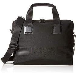 BOSS Pixel_single Doc Cas, Besace homme, Noir (Black), 8x29x38 cm (B x H T)