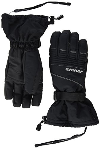 Ziener Herren Gannik AS(R) Glove Ski Alpine Alpinhandschuhe, Black, 8