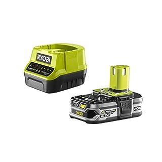 Ryobi rc18120–125Pack Charger 1H + 1Li-ion Battery 18V 2.5Ah