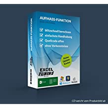 Excel-Tuning Aufmassfunktion