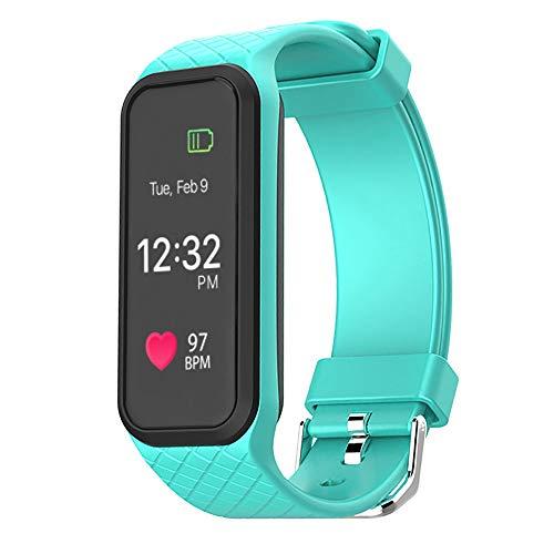 Yallylunn L38I Bluetooth 4.0 Color Led Heart Rate Sport Smart Wrist Watch Bracelet Bleib Stabil Edle Textur Einteilige Schnalle Anti Fall