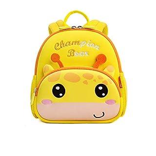QWEER Breathable Kindergarten Bag Anti-Lost Backpack Children's School Bag Kindergarten Baby Anti-Lost Backpack boy 1-3-5 Years Old Cute Baby Small Bag Girl Animal Model boy Girl (Size : M)