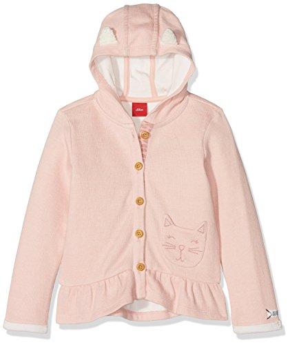 s.Oliver Baby-Mädchen Sweatjacke 65.808.43.7968, (Dusty Pink Melange 42w7), 86