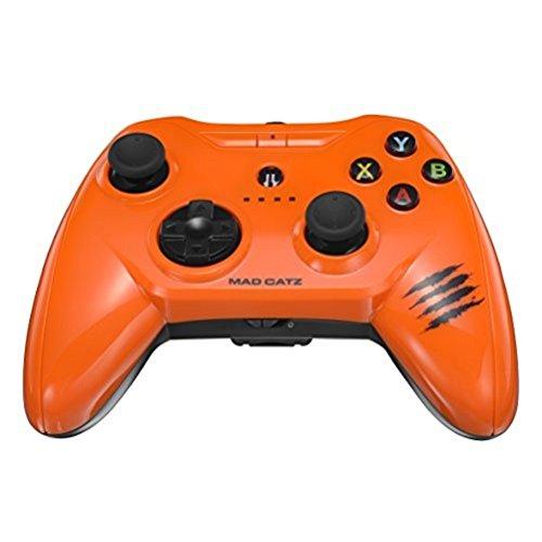 Price comparison product image Mad Catz C.T.R.L.i Mobile Gamepad - Gloss Orange (IOS)