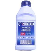 Necto NLF050A - Liquido para frenos y embragues DOT4, alta prestación, ...