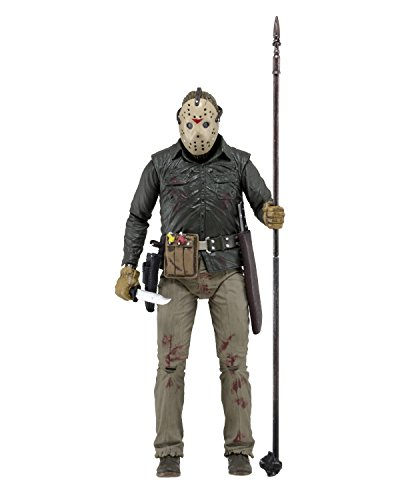 Neca 39714 Bluetooth Jason Freitag der 13. Ultimate Teil 6 Action Figur (Deluxe Hobby-messer)
