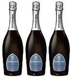 Menger Krug Chardonnay Brut Sekt, 3er Pack (3 x 0.75 l)