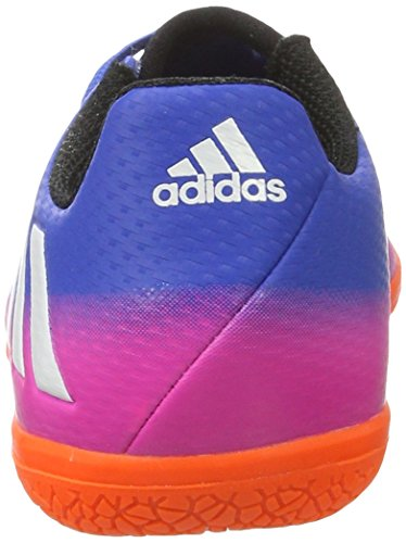 adidas Unisex-Kinder Messi 16.3 Fußballschuhe Blau (Blue/Footwear White/Solar Orange)