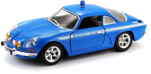 Bburago Maisto France - 22035 - Alpine A110 Gendarmerie - Échelle 1/24