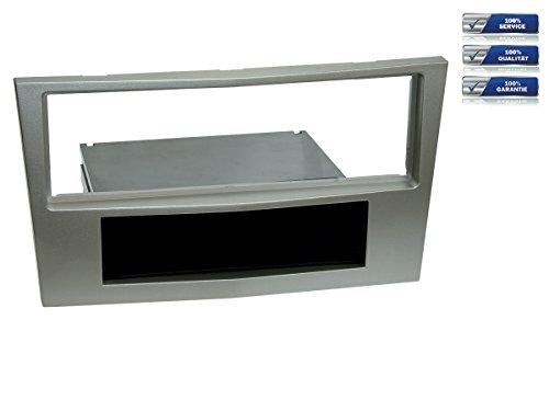1-DIN Radioblende für Opel Astra H / Corsa D / Zafira B *satin stone*