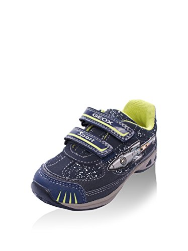 Laufschuhe Jungen, farbe Blau , marke GEOX, modell Laufschuhe Jungen GEOX B TEPPEI B Con Luces! Blau Blau