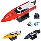 Speedboot Pro 2.4GHz RC ferngesteuertes Speedboot Boot Modell,Top-Speed bis zu 30km/h, Komplett-Set