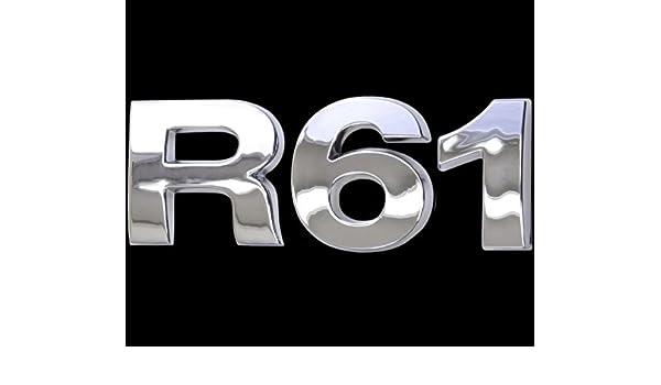 3D Chrom Emblem Aufkleber Logo R60 Tuning Cooper Motor Renn Sport Mini L099