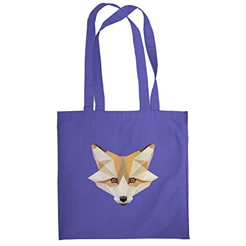 Texlab–Foxy polygons–sacchetto di stoffa Marine
