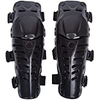 Ginocchiere per Moto Ginocchiera Adulto Motor Racing ginocchio della protezione Protezione per le ginocchia invernali uomo, Nero