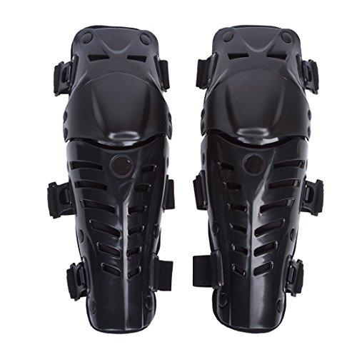Adultos Rodilleras Moto Enduro Espinillera Motocross Protección de Rodilla Corporal Protector Rodilla...