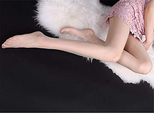 fangfang908 Stockings Matte Flesh-Colored Stockings Ultra-Thin Toes Transparent Pantyhose Summer Velvet Invisible Naked Meat Anti-Hair Silk Sexy Natural Skin Color