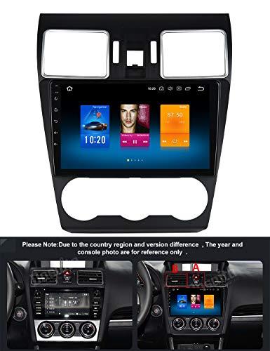 """Dasaita Android 8.0 Dab Autoradio mit Bluetooth Freisprecheinrichtung Auto Radio für Subaru Forester WRX VX 2016-2018, 9"""" 1 Din Autoradio Dab + mit Navi Unterstützt GPS WiFi USB Spiegelverbindung"""