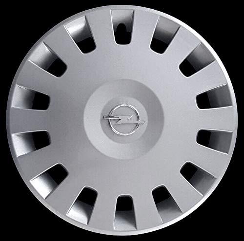 Generico Opel Corsa Confort COPRICERCHIO BORCHIA Quattro (4) CODICE 5906/4 Diametro 14' Logo Cromato Prodotto Nuovo