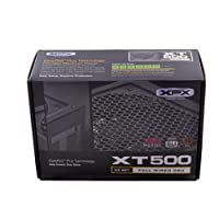 XFX XT Series 500عرض 80Plus ذهبي Full سلكي جهاز تزويد الطاقة