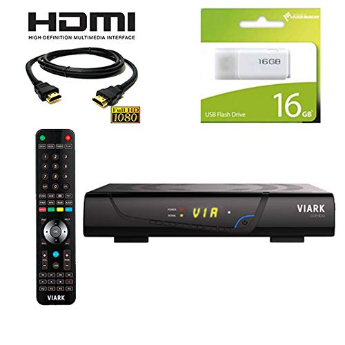 Kit Receptor viark combo Regalo Cable HDMI+ USB 16GB