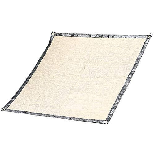 Tissu D'ombrage À Effet De Serre 70% À 75% D'ombrage Écran Solaire Résistant Aux UV Pour Les Plantes À Fleurs, Jaune Terreux (taille : 0.9x2m)