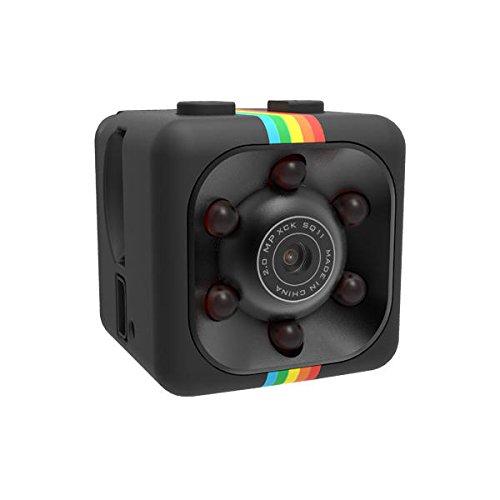 SGerste Mini-Kamera SQ11HD, Nachtsicht 1080P, mit Video-Recorder-Funktion, schwarz (Hd-nachtsicht-video-kamera)