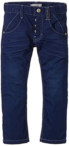 NAME IT Jungen Jeans Ren Kids DNM Bag/Reg Pant NOOS S, Einfarbig, Gr. 110, Blau (Medium Blue Denim)