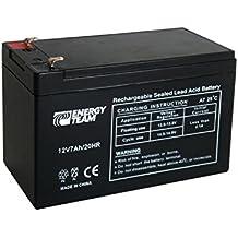 EnergyTeam - Batería sellada de plomo 12V, 7Ah
