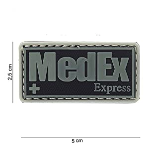 Mac Tools Patch 3D PVC Medex Express Noir/Cosplay/Airsoft/Camouflage