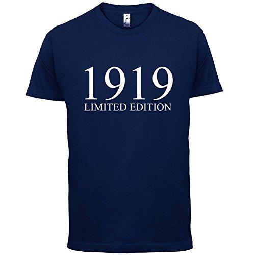 1919 Limierte Auflage / Limited Edition - 98. Geburtstag - Herren T-Shirt - 13 Farben Navy