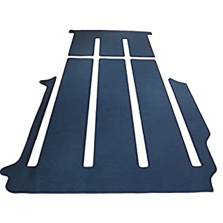 autix 400056830569 Gastraum und Kofferraum Teppich Fußmatte grau meliert
