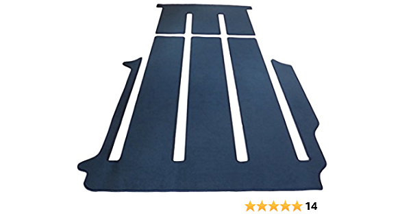 Autix 400056830569 Gastraum Und Kofferraum Teppich Fußmatte Grau Meliert Auto