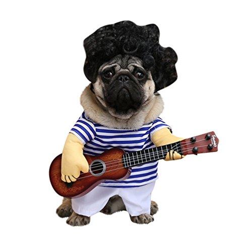 Hunde Lustige Kostüm - fablcrew Hunde Kleidung Kostüme für Hunde lustig Mantel für Tiere Fleece Kleine Hunde Kostüme Super Mignon Fantasie Kleidung für Haustiere