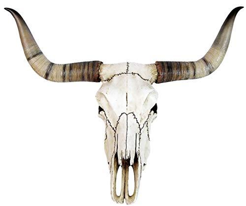 Longhorn Toro Cráneo Toro Cráneo Calavera Wicca Puerta Arco Metal LARP