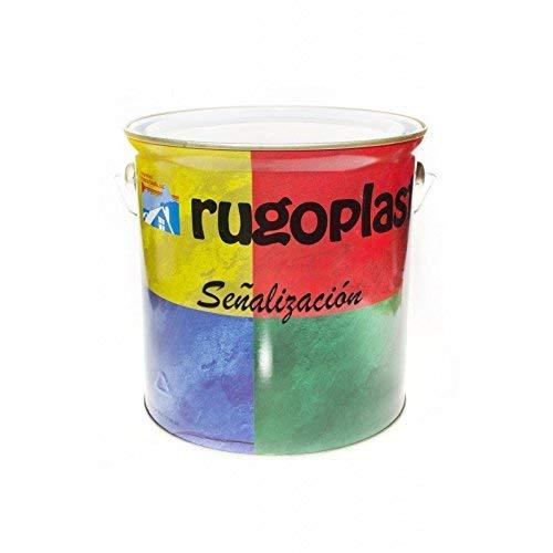 Rugoplast - Pintura Señalización Carreteras Monocomponente , Amarillo Ral 1021