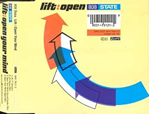 808 STATE. LIFT / OPEN YOUR MIND. 1991 CD SINGLE