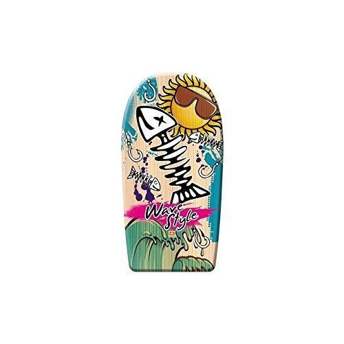 Hochwertiges Bodyboard 84 cm / Body Board / Surfboard / Schwimmbrett Fantasy - Fischgräte