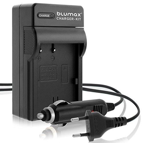 Blumax BP-511/BP-511A Ladegerät | Passend zu Canon EOS 5D/10D/20D/300D/30D/40D/50D UVM