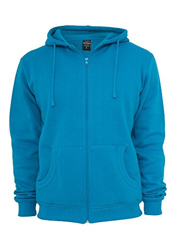 urban classics RELAXED ZIP HOODY winered