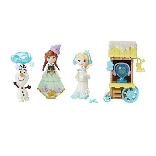 Piccolo Regno Disney Frozen Ice Skating Scene Set