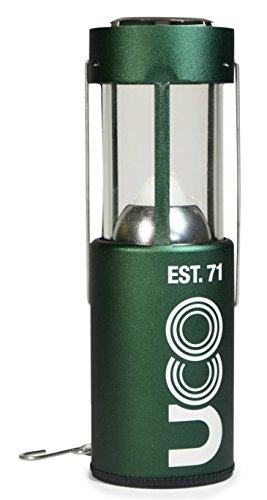 UCO Alu Anodisiert Kerzenlaterne, grün, 054710