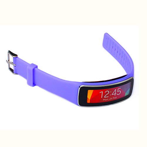 Greatfine Correa de muneca para Galaxy Gear fit R350 SmartWatch accesorios de munequera para reemplazo de bandas de reloj