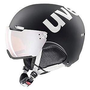 uvex Unisex– Erwachsene, hlmt 500 visor Skihelm