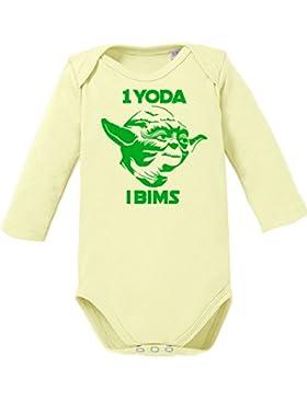 1 Yoda i Bims - Bio Baby Langarmbody