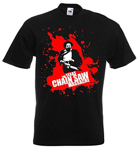 Adults Texas Chainsaw Massacre Horror Movie T Shirt