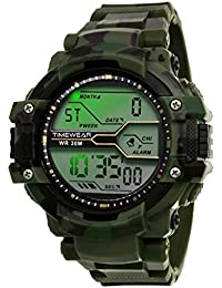 TIMEWEAR Light-Powered Digital Black Army Men s Watch - 1112TWD d3c5aa7dfc