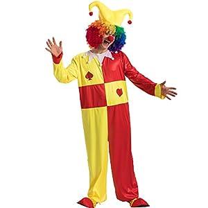 Carnival Toys-Disfraz Jolly Unisex-Adult, multicolor, talla única, 83288