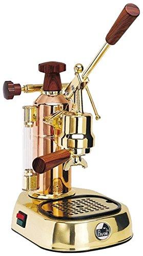 la Pavoni Europiccola ERG Independiente Máquina espresso Oro 0,8 L 8 tazas Semi-automática - Cafetera (Independiente, Máquina espresso, 0,8 L, De café molido, 1000 W, Oro)